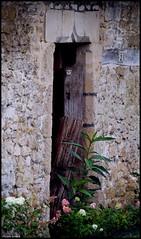 Bourg le Roi (Sarthe) (gondardphilippe) Tags: bourgleroi sarthe maine paysdelaloire architecture porte door bâtiment couleurs colors extérieur outdoor house maison monochrome nature patrimoine quiet rural ruralité texture mur zen