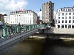 Puente Pont Roi Baudouin Charleroi Belgica (Rafael Gomez - http://micamara.es) Tags: puente pont roi baudouin charleroi belgica valonia bélgica