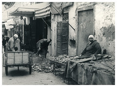Market in Meknes (Mark Dries) Tags: markguitarphoto markdries hasselblad500cm planar 80mm28 carlzeiss adox100chsii rodinal r09 125 600 fomabrom wa selenium sepia morocco fes fez
