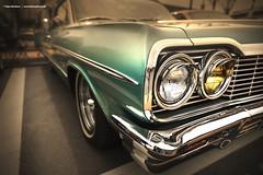 1964 Impala Detail (Dejan Marinkovic Photography) Tags: 1964 chevrolet chevy impala bel air american classic car detail cardetail headlight lowrider custom chrome