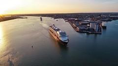 Denholms - Mein Schiff 3 (thephantomzone2018) Tags: denholms mein schiff 3 cruise ship ocean liner southampton drone dji phantom aerial thephantomzone2018