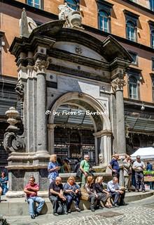 Napoli (NA), 2018, Piazzetta del Grande Archivio. Verum Factum: la piazza delle erbe.