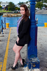 Tenielle (Wildeye Photography) Tags: model people outdoors sea harbour beauty