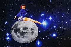 moongirl (lucierussell20) Tags: night sky nightsky photoshop moon 50s ad