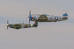 Republic P-47D Thunderbolt (wacamerabuff) Tags: flying heritage collection