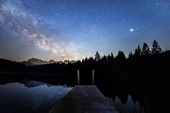 Geroldsee (SonjaS.) Tags: sterne nacht milchstrase milkyway geroldsee bayern canoneos6d weitwinkelobjektiv