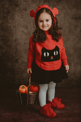 red girl (Sparkphotopro) Tags: wood girl child tree cute kid baby little jungle outdoor nature fall fantasy landscape beautiful branch childhood face family innocence innocent leaves love lovely plant portrait small smile white young