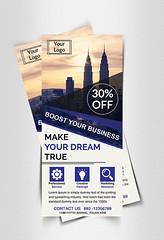 Corporate DL Flyer (tushar.mahmood) Tags: flyer rackcard dl logo design graphicsdesign corporateidentity