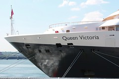 Queen Victoria (das boot 160) Tags: queenvictoria cunard cruise cruiseliner cruising cruiseterminal passenger ships sea ship river rivermersey port docks docking dock boats boat birkenhead liverpool mersey merseyshipping maritime
