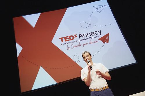Achraf Sabir - Équipe TEDxAnnecy 2018 - Photo de Magalie Caillard
