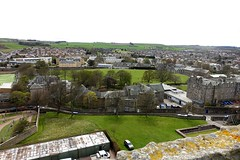 View from St Rules Tower (nz_willowherb) Tags: scotland fife standrews view strulestower around cathedral sea sand distance