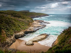 Tasman national Park (pierre pihouee) Tags: australia badweather landscape tasmania