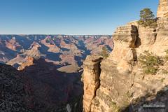 Top of Bright Angel (kevin-palmer) Tags: grandcanyon grandcanyonnationalpark nationalpark arizona spring april nikond750 blue sky sunny brightangeltrail southrim tamron2470mmf28 shadows