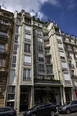 25 Rue Benjamin Franklin, Paris (IFM Photographic) Tags: img2278a canon 600d tamron 1024mm 1024mmf3545diiivchld tamron1024mmf3545diiivchld f3545 di ii vc hld 25ruebenjaminfranklin paris france 16tharrondisment xvi 16th arondisment 16e 16ème 75016 augusteperret brutalist