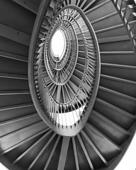 Every step we take that's synchronized (polar_plateau) Tags: staircase stairway stairs step view viewing frombelow myview perspective geometric lines igers artofvisuals museum art palazzoreale milan design spiral stunning instagood pictureoftheday interiordesign architecture blackandwhite blackandwhitephotography stairwaytoheaven