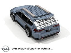 Opel Insignia B - Country Tourer AWD - 2018 (lego911) Tags: opel insignia b 2018 2010s mkii ii country tourer wagon estate awd psa gm general motors e2xx europe germany german auto car moc model miniland lego lego911 ldd render cad povray
