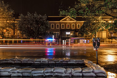 rainy night in Cleveland Park (Beau Finley) Tags: rain clevelandpark beaufinley washingtondc districtofcolumbia hometown lighttrail dc night longexposure