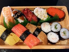 Sushi (:Dex) Tags: sushi prawn shrimp rice food fish egg yummy penang