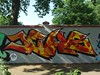 JEWS (mkorsakov) Tags: dortmund nordstadt hafen blücherpark halloffame graffiti wand wall legal bunt colored jews