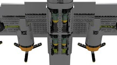 Lego B-24J Liberator - Bungay Brickaroo 12 (Lt. SPAZ) Tags: consolidated b24 b24j liberator bomber aviation wwii war lego moc airplane 446th usaaf bungay brickaroo allies