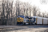 CSXT 3181 (FZEPArgon) Tags: csx csxt csxtransportation es44ah es44 gevo generalelectric train freighttrain autoracks backlit backlitbutstilldank