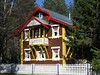A Russian House. (Christine Dolan) Tags: russian house wooden structure forest