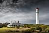 Lit... (Goldmanoz) Tags: lighthouse aireysinlet splitpoint coast sea ocean cloud sky splitpointlighthouse greatoceanroad geelong