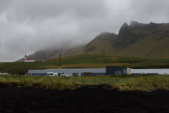 The town of Vic (anthonydcliffe) Tags: iceland nature landscape colour river water sky cloud mountain black bnw beach volcano volcanic travel waves
