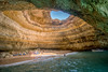 Benagil Sea Cave (mickreynolds) Tags: 2018 algarve alvor april2018 family nx500 portugal benagil sea cave limestone samyang 12mm