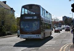 860 (Callum's Buses and Stuff) Tags: flag bus buses busesedinburgh buseslothianbuses busstop b9tl busesb9tl geminib9tl babertonb9tlvolvo lothianbuses lothian lothianedinburghedinburgh edinburgh edinburghbus madderandwhite madderwhite madder mader gemini gemini2 volvo granton