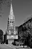 St Andrew's Chelsea / Steeple (Images George Rex) Tags: london rbkc uk parkwalk sw100au steeple tower spire churchofengland parishchurch chelseapark england photobygeorgerex unitedkingdom britain imagesgeorgerex neogothic gothicrevival historicism churchofstandrew standrewschelsea monochrome blackandwhite bw 812c3eff67ba4d549a9e29eab9a50de4