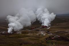 Earth power II (elisabethkrausmann) Tags: geothermal powerplant krafla iceland myvatn lake volcano