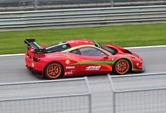 Ferrari 458 Challenge (Dag Kirin) Tags: ferrari 458 challenge gt days red bull ring 2018