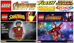 More Lego Polybags That Need to Be Made !!! (afro_man_news) Tags: lego polybags custom fake all sets antivenom baymax daniel west deadpool heimdall iron man miguel shazam ultraman yellow daredevil marvel infinity war dc superheros big hero 6 spiderman justice league batman flash thor coco