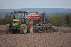 John Deere 7810 Tractor with a Kockerling Ultima Seed Drill (Shane Casey CK25) Tags: john deere 7810 tractor kockerling ultima seed drill jd green rathcormac traktor trekker tracteur traktori trator ciągnik spring barley sow sowing set setting drilling tillage till tilling plant planting crop crops cereal cereals county cork ireland irish farm farmer farming agri agriculture contractor field ground soil dirt earth dust work working horse power horsepower hp pull pulling machine machinery grow growing nikon d7200