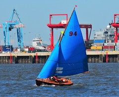 WYC RGP1 13/5/18 (sab89) Tags: yachting sailing sail new brighton wallasey yacht club rgp1 wooden boats boat traditional mersey river estuary low tide racing race inshore irish sea seabird half raters oldest one design