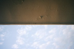 Around 7AM, Jan 2018 (Mayagüez, PR) (SofíaRaquel) Tags: puerto rico pr boricua caribe caribbean sky film analog 35mm morning cloud clouds roof ceiling