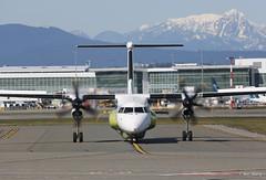 L-3 Communications DHC-8-400 N404E (bswang) Tags: dh8d l3 n404e yvr