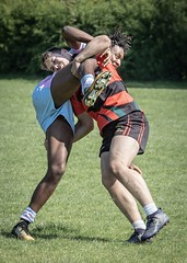 Off the ball (Wendy G Davies) Tags: hit action sport rugbyunion rugby tackler tackle