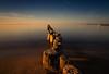 Sunset in Glowe / Rügen (drummerwinger) Tags: rot rügen ostsee glowe sunset wasser water himmel beach strand clouds meer sea buhnen tokina