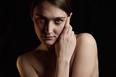 Portrait of a soul (Ita Mar Photos) Tags: model topmodel soul picture think pose look eye pierce light skin female woman amsterdam studio nikon 2018 view portrait vision