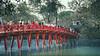 The Huc Bridge, Hanoi, Vietnam (Iftakhar Hasan) Tags: asia vietnam hanoi hànội oldquarter thehucbridge cầuthêhúc hoànkiếmlake hoankiemlake bridge footbridge lake park sony sonyα6300 sonyepz18105mmf4goss