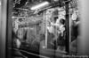 東京メトロ丸ノ内線車窓 (✱HAL) Tags: om1 ilford xp2super400 film tokyo tokyometro marunouchiline window train subway