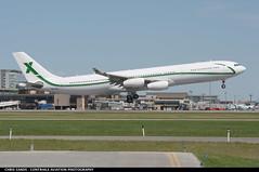 Air X A343 9HBIG ($and$man) Tags: airplane aircraft cyyc calgary yyc landing air x airbus a340 9hbig luxury