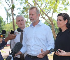 NT blackspot roads funding, Darwin, 17/05/2018