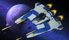 Mandalorian Fang Fighter MOC (cypiratemocs) Tags: mandalorian fang fighter protectors concord dawn moc lego rebels star wars protectorate fenn rau