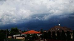Sötét viharfelhők kelet felé (Ják) (milankalman) Tags: storm dark clouds weather summer