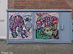 Den Haag Street Art (Akbar Sim) Tags: streetart poster denhaag thehague agga holland nederland netherlands akbarsim akbarsimonse illegal