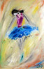 "DeGrazia's ""Blue Ballerina"" (DeGrazia Gallery in the Sun) Tags: teddegrazia degrazia ettore ted artist galleryinthesun artgallery gallery nationalhistoricdistrict foundation nonprofit adobe architecture tucson arizona az santacatalinas desert paletteknife blueballerina colors oil paintings"