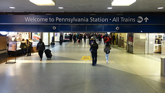 Entry hall, Pennsylvania Station